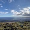 ラバロックの上でお昼寝 ハワイ島 キラウエア火山