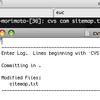Mac OS X Leopardでの CVSEDITOR, SVN_EDITOR