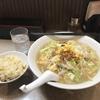 ボリュームランチ(味噌ラーメンセット)