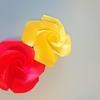 1回完結講座の魅力~鶴が折れるなら絶対折れる、立体のバラ~