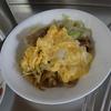 幸運な病のレシピ( 530 )朝:肉キャベツ、味噌汁