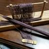 ランディングネットの網を編む