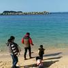 真っ青な崎戸海浜公園