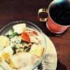 【星乃珈琲店】サラダモーニング