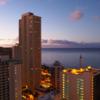 【旅行記】2017年家族4人初めてハワイへ〜2日目海水浴とダイヤモンドヘッドと高熱編