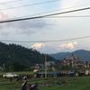ポカラへ 山への道程。