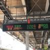品川駅工事のレア物を求めて② 6番線入場規制