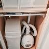 掃除機の収納は掃除機を選ぶところから。解体して小さく収納できる掃除機。