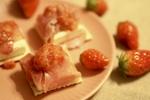 【シェフ】おつまみレシピ「イチゴとクリームチーズのカナッペ」の作り方