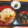 【富士そば】いつもそばだが、カツ丼食べてみた♪♪
