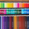 ゼナカラー120色入り色鉛筆はピンク系の種類が多い。口コミ