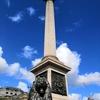 トラファルガー広場とセント・ジェームス・パークとケンジントン・パークと最後の夜(イギリスのロンドン)