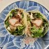 🚩外食日記(359)    宮崎ランチ   「ボンデリスベーカリー」⑥より、【塩メロンパン】【ケバブロール】‼️