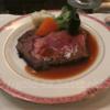 アメックスプラチナのコンシェルジェでウェスティンホテル東京 ザ・テラスを予約 ローストビーフが旨い!