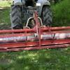 ドライブハローの取り付けと田植え機の整備