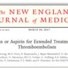 静脈血栓症の追加治療に関するリバロキサバンとアスピリンの比較