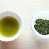 梅雨の晴れ間の熱い日本茶