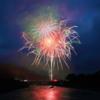 美しい山々にこだまする花火は大迫力!【第23回曽爾村ぬるべの郷夏まつり】(曽爾村)