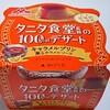 タニタ&森永乳業「タニタ食堂の100kcalデザート キャラメルプリン」はカラメルソースが美味♪