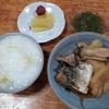 白菜の雑炊と鯖とジャガイモの煮つけとめかぶ