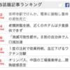 各新聞サイトのSNS