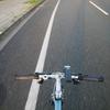 自転車とモーニング