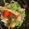 12月12日 寿司、そして、アヒージョの油そば。