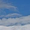 次々と流れてくる雲に見入ってしまいました