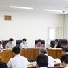 9月県議会を前に政調会