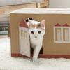 猫砂の梱包資材を猫のおうちにしたところ販売実績が驚愕の4倍に!これは販売店・ユーザー・猫の誰も損をしないナイスアイデア!!