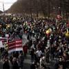 大規模反原発デモ in Germany