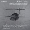 音色と響きを追求した独自の世界を追求した現代最高峰のスイスの作曲家ミカエル・ジャレルの作品3篇を収録。 タベア・ツィンマーマン、ルノー・カプソンが独奏