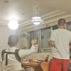 【東京用賀 某社長宅ホームパーティー】洒落たお部屋で多摩川花火を堪能