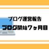 【ブログ運営報告】ブログ開始7か月目!ワードプレス凄し