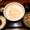 「うどん棒」の「つけ麺セット」