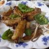幸運な病のレシピ( 1594 )夜:手羽先バター醤油、イワシ、厚揚げ焼き、汁