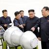 「水爆、ICBMに搭載可能」 北朝鮮「正恩氏が視察」