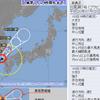 【台風情報】ノロノロ台風7号の影響で長時間の大雨に警戒!台風7号は3日16時現在で965hPa・中心付近の最大風速は30m/s・最大瞬間風速は45m/s!!