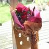 【お金を使わず豊かな暮らし】頂いた花束でドライフラワー ブーケを作りました