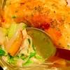 白菜&玉ねぎマリネと薩摩芋の豆乳マヨグラタン