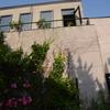 2014/05/24 朝日の当たる壁面・・・勿体ない(^^;)何か植えたいよね。