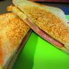 フライパンで焼いたパンが絶妙