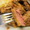 【1食383円】肉で痩せる!?生ラム肉ステーキレシピ~焼き方はミディアムが旨い~