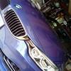 アルピナD4 BITURBOご来店!ホイールを車から外さず当日修理が当たり前の佐藤企画!
