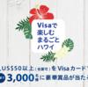 Visaで楽しむ まるごとハワイ プレゼント・キャンペーン
