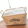 ダイソーの布ボックス(strage bag)がかわいくて使えます!【押入れ整理・その3】