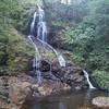 秋芳白糸の滝に到着