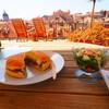 地中海の恵みたっぷり 「バーガーをテイクアウト」 @Barba ドブロブニク