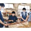 門前町と周辺の5校の生徒さんが總持寺祖院開創700年祝う竹灯籠を作成しました