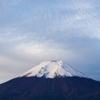 10月16日 今朝の富士山